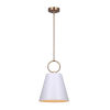 This item: Irina Gold and White One-Light Pendant
