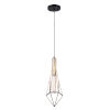 This item: Greer Black and Gold One-Light Mini Pendant