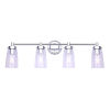 This item: Rory Chrome Four-Light Bath Vanity