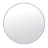 This item: Brushed Nickel 33 x 33 Inch Mirror