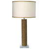 This item: Cylinder Jute One-Light Table Lamp