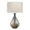 This item: Daybreak Gray Enameled Metal One-Light Table Lamp