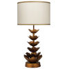 This item: Antique Gold One-Light Table Lamp