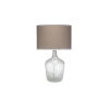 This item: Plum Clear One-Light Table Lamp