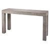 This item: Bedford Gray Burl Wood Veneer Console Table