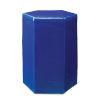 This item: Porto Cobalt Blue 13-Inch Ceramic Side Table