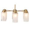 This item: Streamer Antique Brass with Streamer Glass Six-Light Chandelier