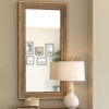 This item: Evergreen Natural Rectangle Mirror
