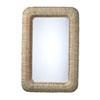 This item: Hollis Natural Rectangle Wall Mirror