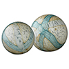 This item: Cosmos Pale Blue Glass Ball, Set Of 2