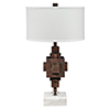 This item: Apprentice Rust Patina One-Light Table Lamp