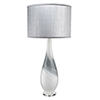 This item: Dewdrop Gray Swirl One-Light Table Lamp