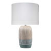 This item: Flagstaff Natural with Slate One-Light Table Lamp