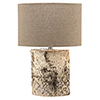 This item: Forrester Birch Veneer Table Lamp