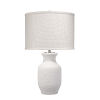 This item: Gilbert Textured Matte White One-Light Table Lamp