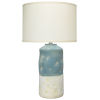 This item: Sedona Blue and White One-Light Table Lamp