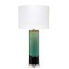 This item: Wythe Aqua Black with Cream Glaze One-Light Table Lamp