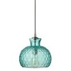 This item: Clark Aqua One-Light Mini-Pendant