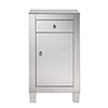 This item: Contempo Mirrored 32-Inch Cabinet