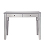 This item: Contempo Hand Rubbed Antique Silver 42-Inch Vanity