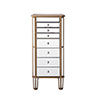 This item: Contempo Hand Rubbed Antique Gold Armoire