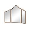 This item: Contempo Gold Paint Dresser Mirror