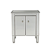 This item: Reflexion Antique Silver Paint 26-Inch Nightstand