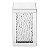 This item: Modern Mirrored 20-Inch Crystal End Table