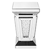 This item: Modern Mirrored 24-Inch Contemporary Crystal End Table