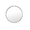 This item: Eternity Silver Round 32-Inch Mirror