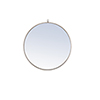 This item: Eternity Silver Round 32-Inch Mirror with Hook