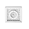 This item: Sparkle Crystal 10-Inch Square Table clock