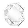 This item: Sparkle Glass 36-Inch Geometric Mirror