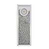 This item: Modern Mirrored 35-Inch Crystal Wall Clock