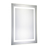 This item: Nova Glossy Frosted White 40-Inch Rectangle LED Mirror 5000K