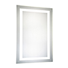 This item: Nova Glossy Frosted White 40-Inch LED Mirror 5000K