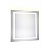 This item: Nova Glossy Frosted White 36-Inch Four-Side LED Mirror 5000K