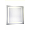 This item: Nova Glossy Frosted White 36-Inch Four-Side LED Mirror 3000K