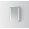 This item: Elixir Silver Powder Coating 39-Inch LED Mirror 3000K