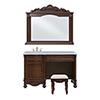 This item: Windsor Teak Vanity Set