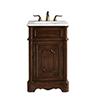 This item: Retro Teak Vanity Washstand