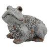 This item: Gray Outdoor Garden Frog Figurine