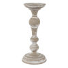 This item: White 13-Inch Candlestick Polyresin