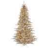 This item: Champagne Fir Yellow Artificial Pre-lit Tree with 1634 PVC Tip