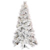 This item: Flocked Atka Pine Green Artificial Pre-lit Tree