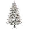 This item: Flocked Kiana Green 1850 LED Light Artificial Pre-lit Tree