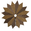 This item: Brocade Yellow 60-Inch Tree Skirt with Elegant Woven Brocade Fabric