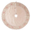 This item: Regal Yellow 60-Inch Tree Skirt with Exquisite champagne Polysilk Dupioni Fabric