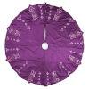 This item: Romance Purple 60-Inch Tree Skirt with Elegant Polysilk Dupioni Fabric