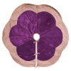 This item: Baroque Purple 60-Inch Tree Skirt with Luxurious Cotton Velvet Fabric